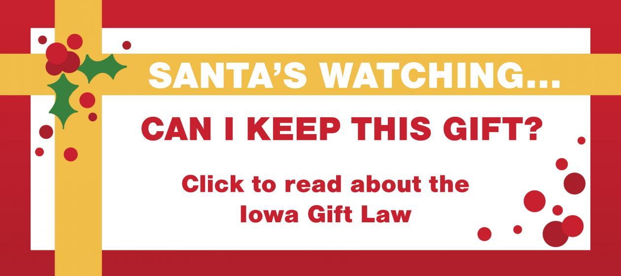 Iowa Gift Law