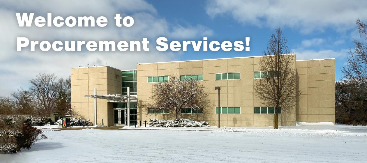 Welcome to Procurement Services!